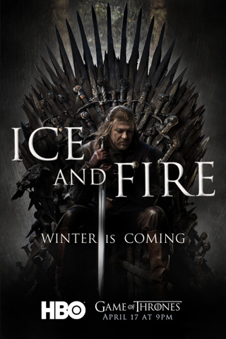 Game of Thrones, HBO, Ice and fire